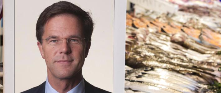 Premier Rutte Heropent de Haagse Markt