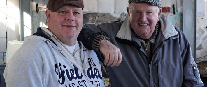 Piet en Peter van 't Hof van de Partij-Markt