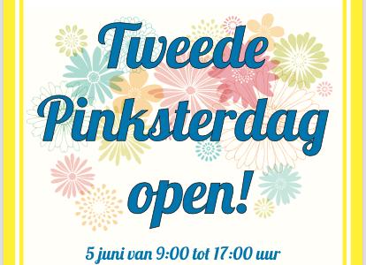 Tweede Pinksterdag gezellig naar de Haagse Markt