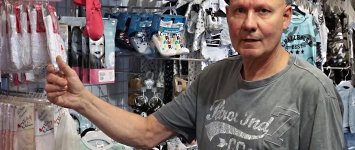 De ondernemer van deze week is Harry Claris met zijn onderneming Jolly Baby- en Kidsshop.