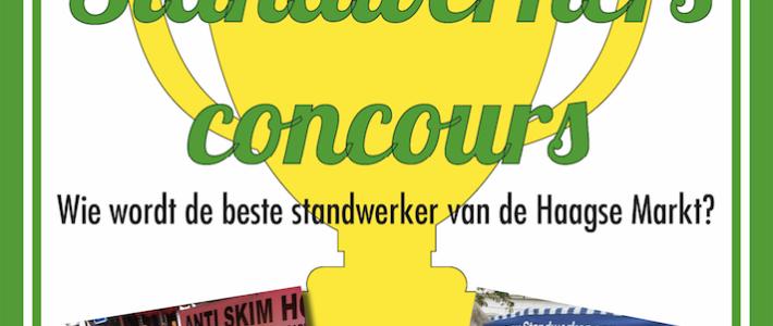 Standwerkersconcours op de Haagse Markt!