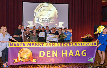 Nieuwsflits Haagse Markt, Haagse Markt is Beste markt van Nederland