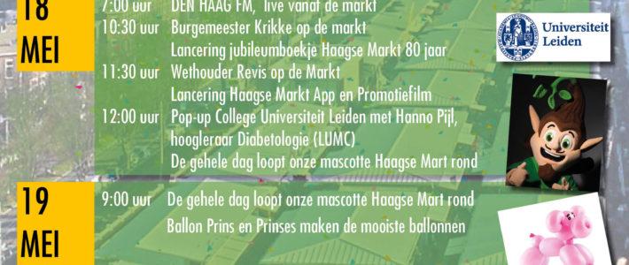 80 jaar Haagse Markt aan de Herman Costerstraat en het Pinksterweekend.