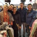 Prins en Prinses op bezoek bij Disino Fashion Boutique unit 2.40 2.41